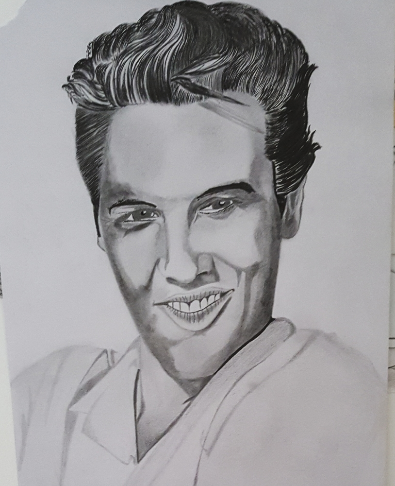 Elvis Presley by Flo50